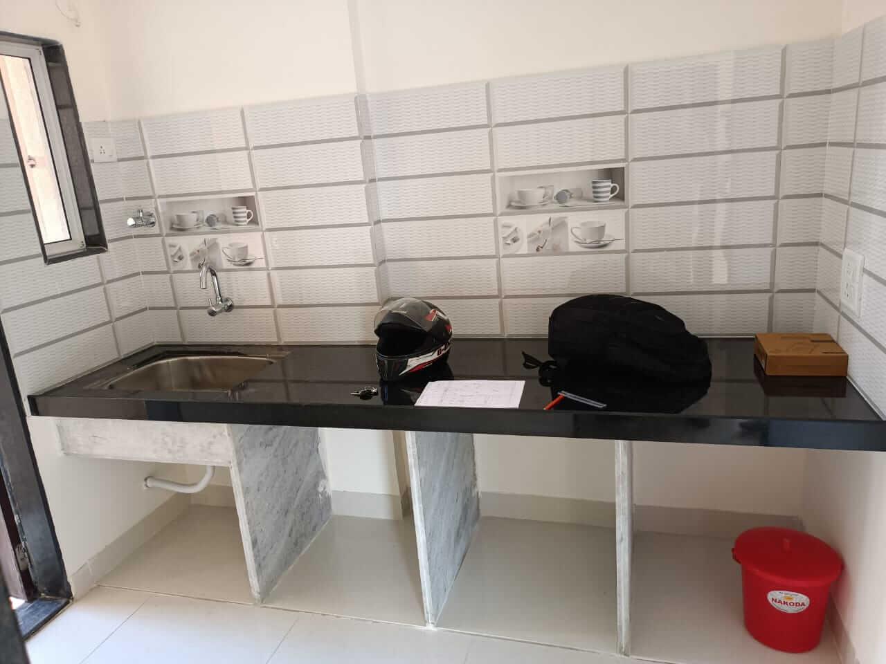 5 ft Platform Length – Straight Kitchen
