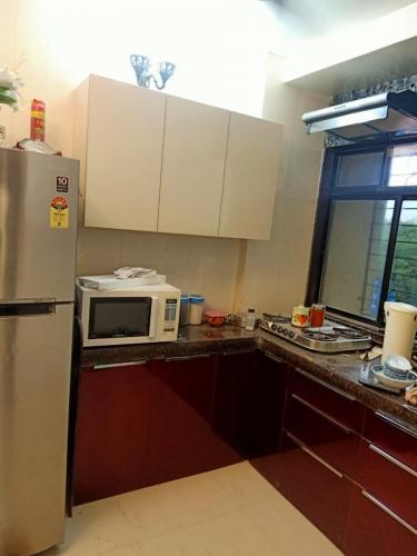 Red & White Acrylic Kitchen